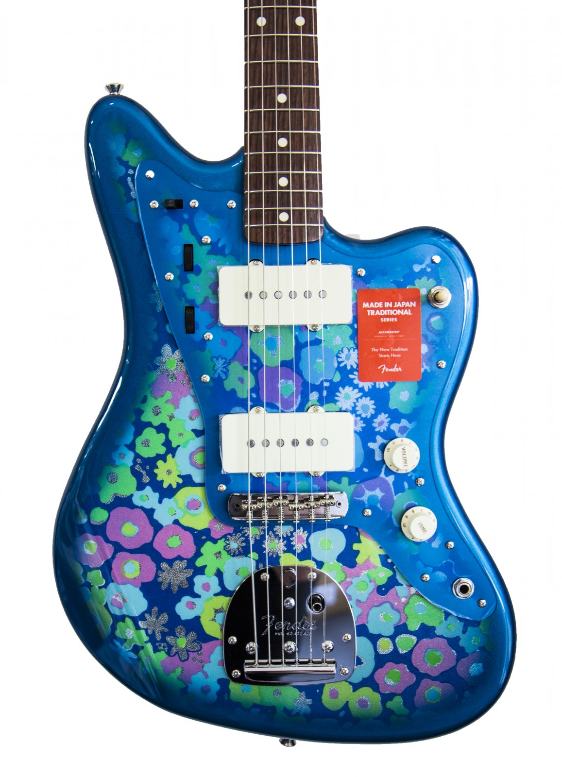 Fender Jazzmaster  Made In Japan Traditional 60s Blue Flower