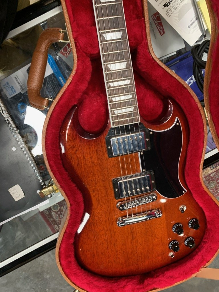 Used Gibson SG Autumn Burst - U 13241