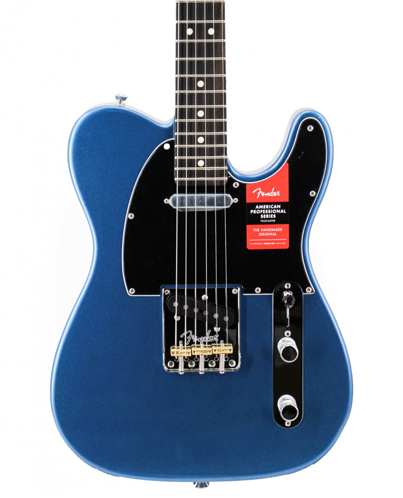 Fender FSR American Professional Tele Ebony Board Lake Placid Blue