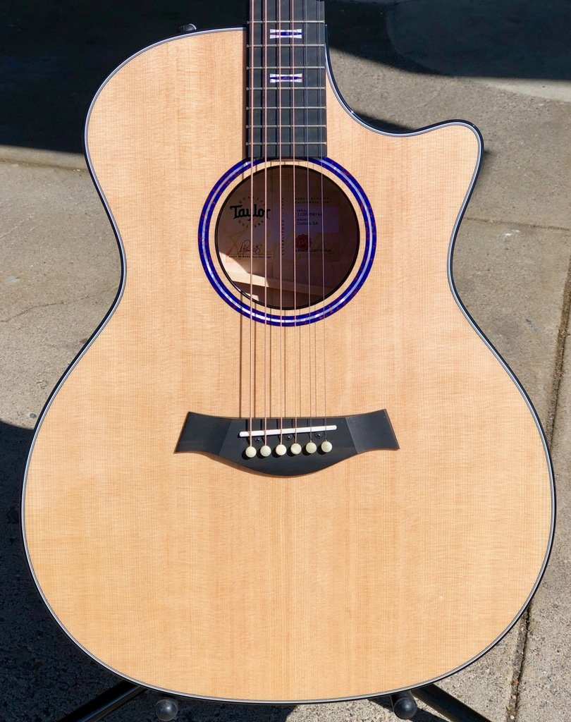 Taylor Custom Grand Auditorium Acoustic/Electric