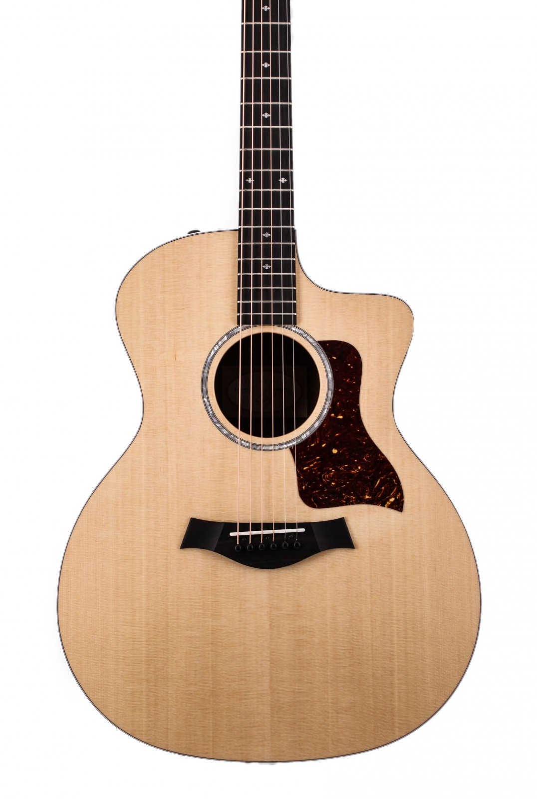 Taylor 214ce-LTD Black Limba and Spruce Top