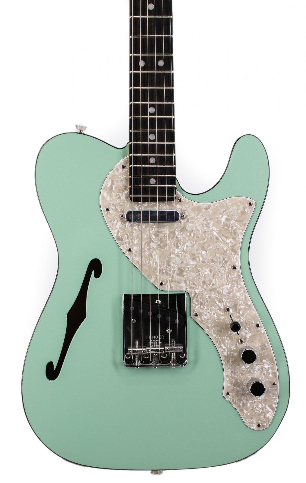 Fender 2-Tone Thinline Telecaster Seafoam Green Ebony Board