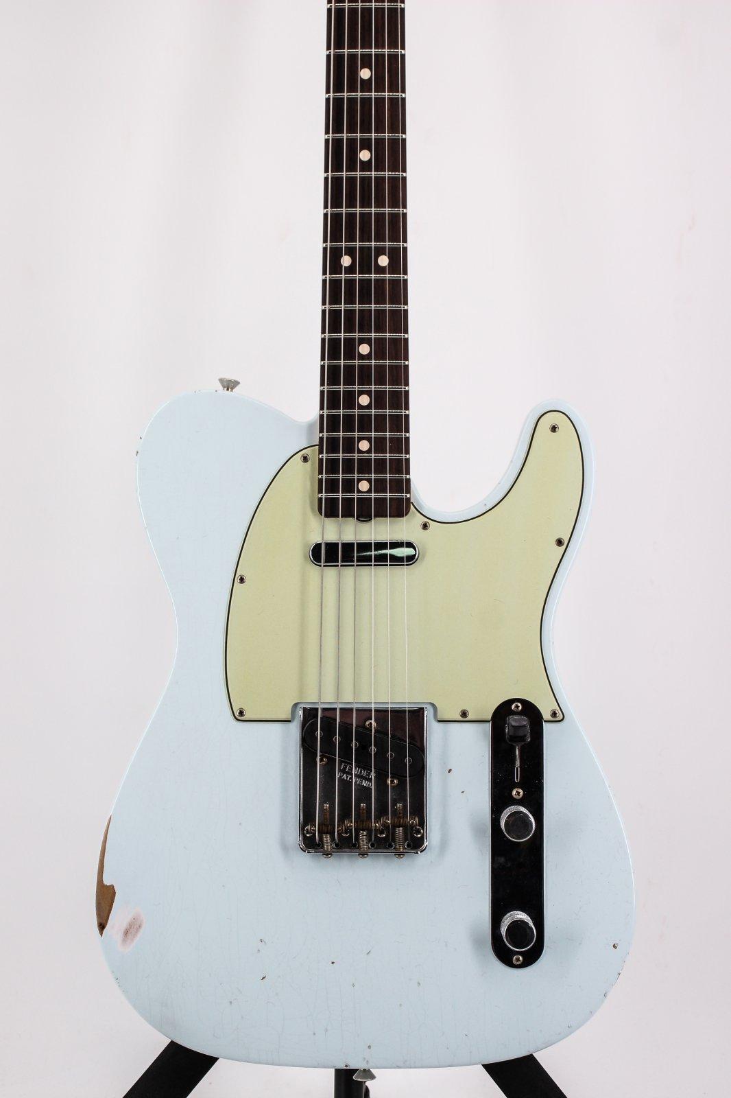 Fender Masterbuilt Greg Fessler 60's Tele Journeyman Pale Sonic Blue