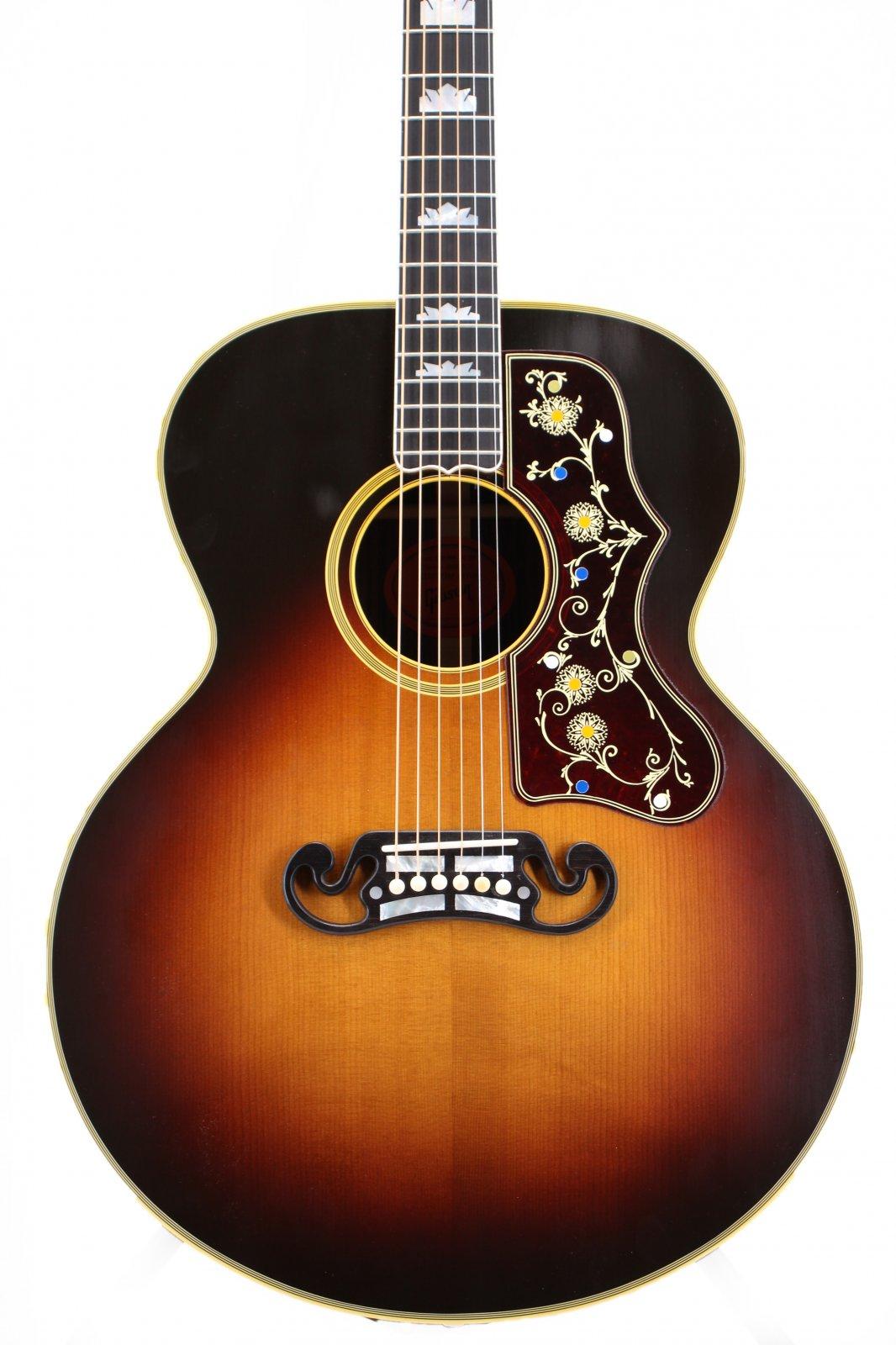 Gibson Pre-War SJ-200 Rosewood Thermal Aged Adirondack Top Jumbo Guitar
