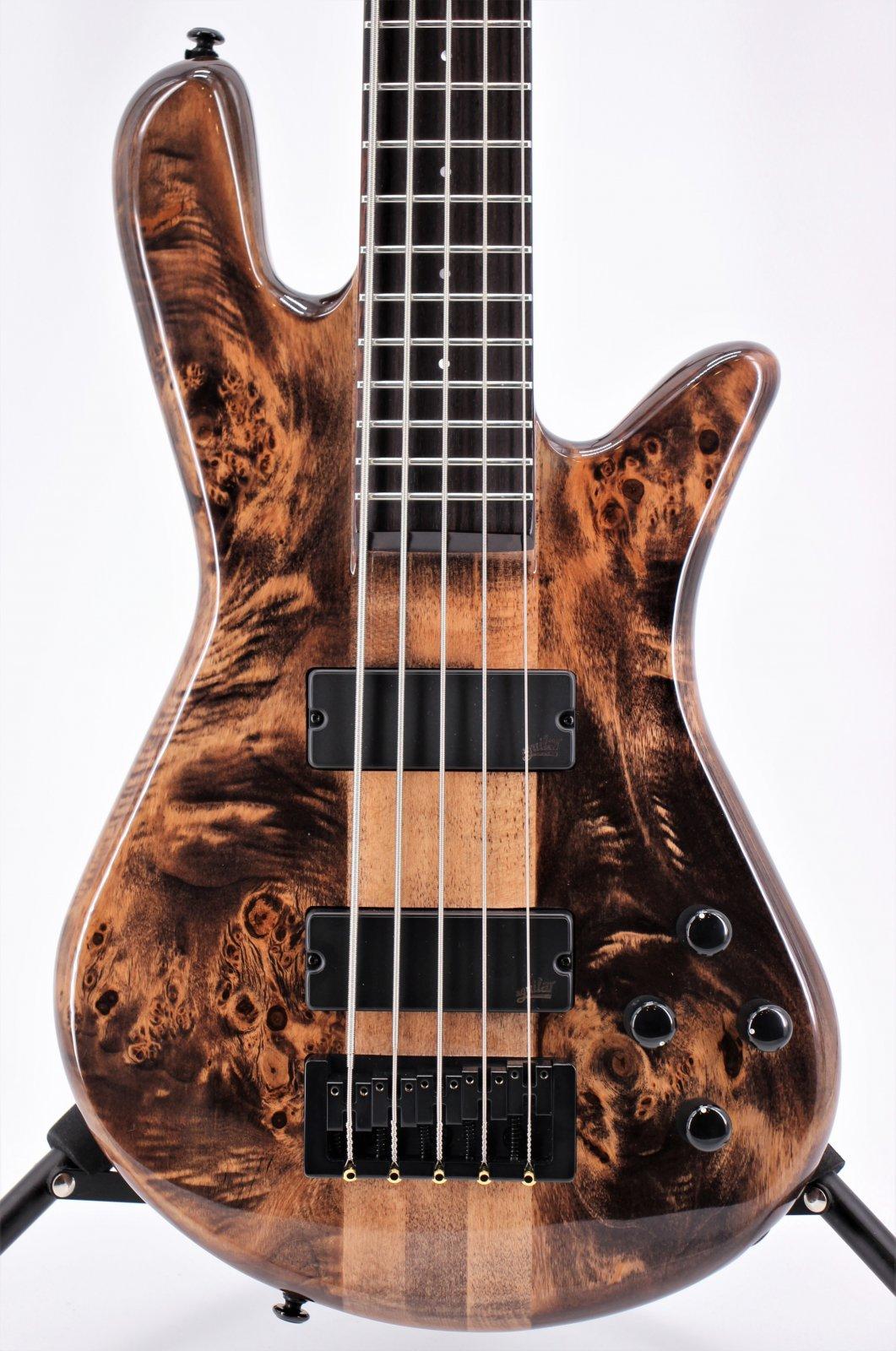 Spector NS Ethos 5 String Bass Super Faded Black