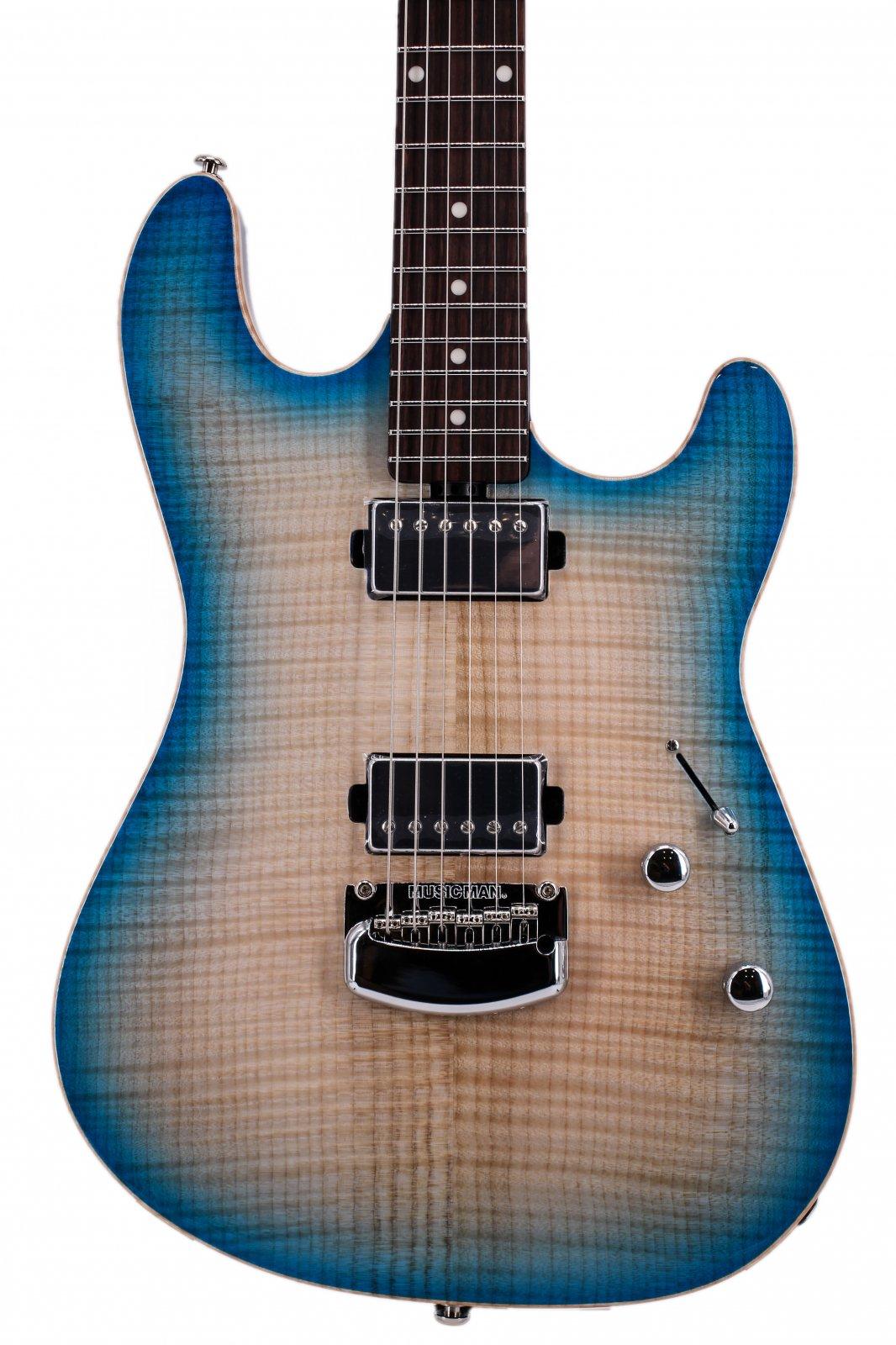 Ernie Ball Music Man Sabre BFR Coral Blue Burst Electric Guitar