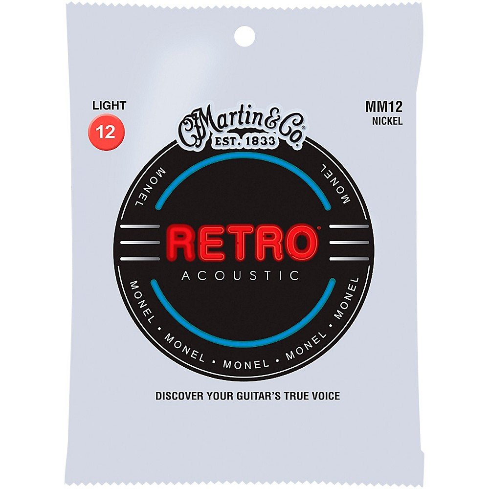 Martin Retro Acoustic Monel 12-54 MM12