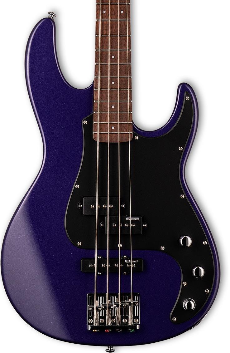 ESP/LTD AP-204 Dark Metallic Purple 4-String Bass