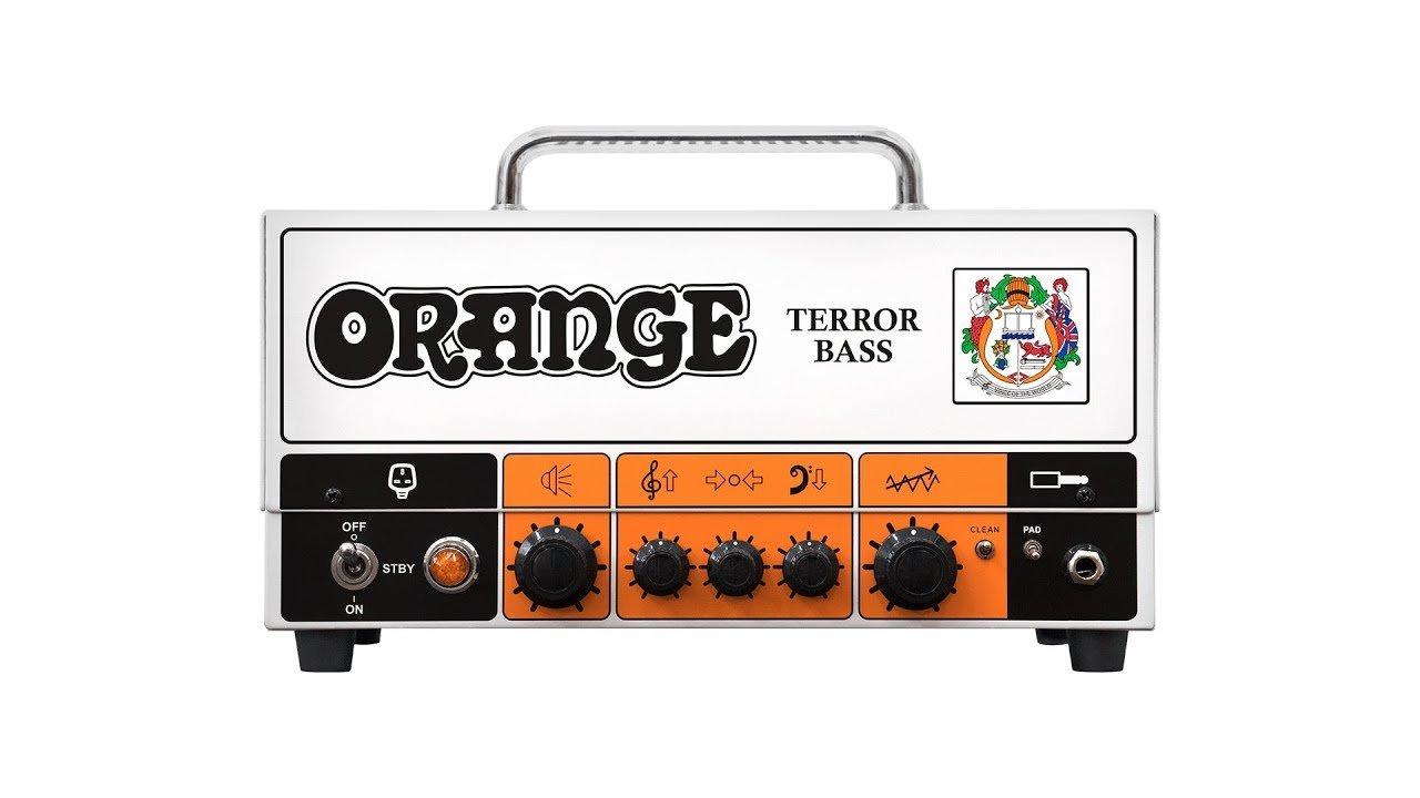 Orange Terror Bass 500w Head