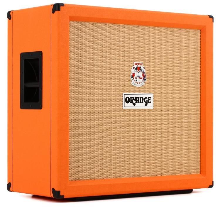 Orange PPC412 240-watt 4x12 Straight Guitar Cabinet