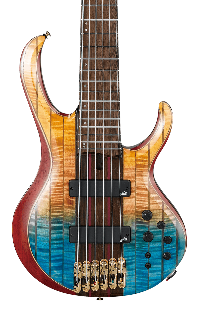 Ibanez BTB1936 6-String Bass Sunset Fade Low Gloss