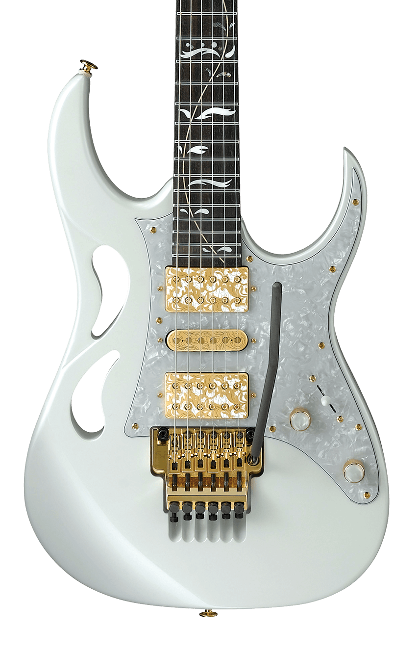 Ibanez Signature Steve Vai Electric Guitar PIA3761SLW Stallion White