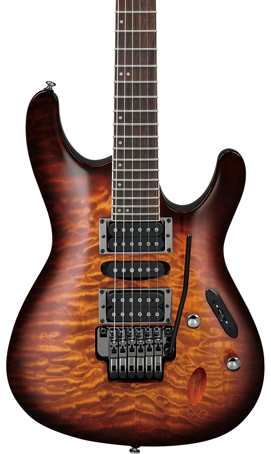 Ibanez Dragon Eye Burst S Series S670QMDEB