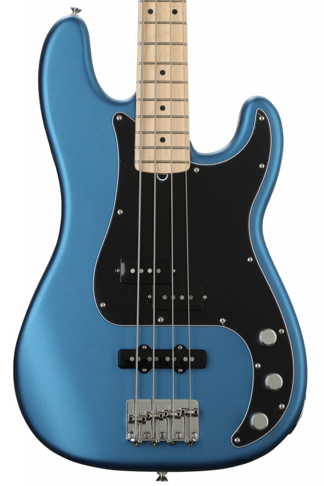 Fender American Performer P/J Bass Satin Lake Placid Blue