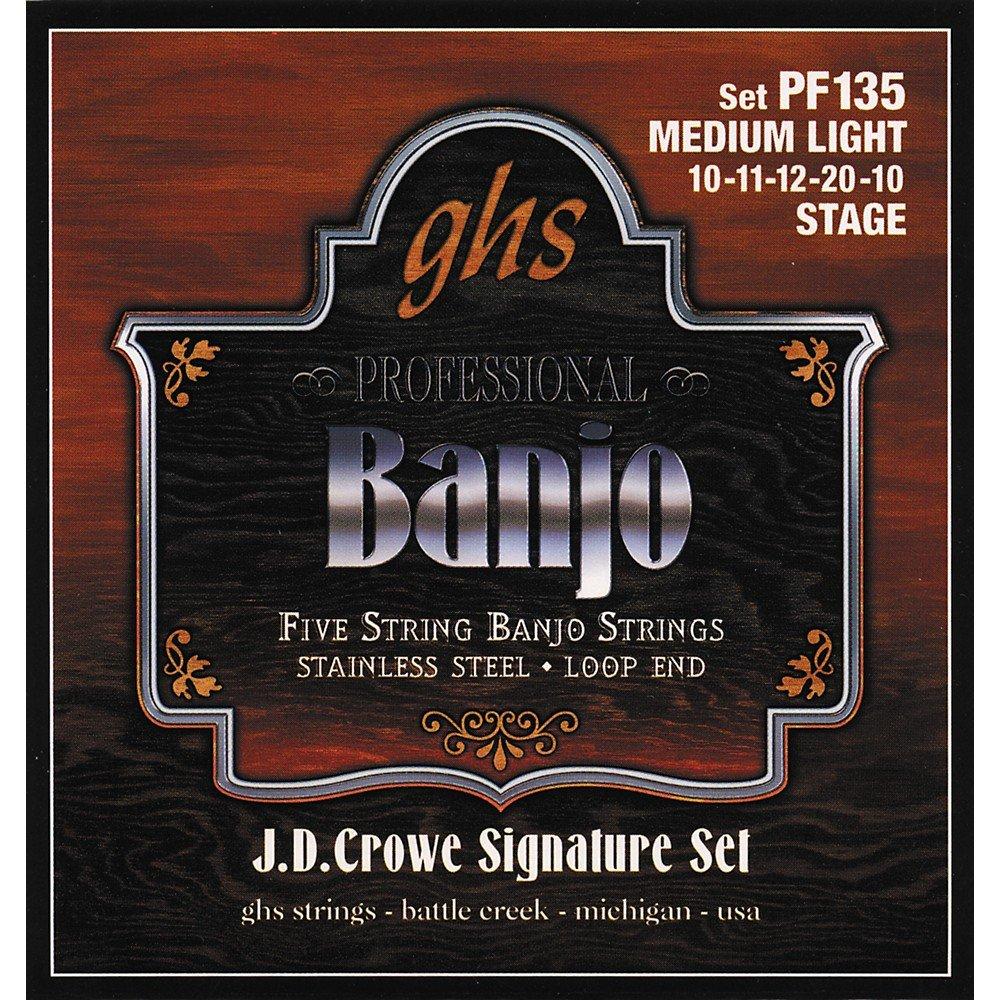 GHS Banjo Set 10's PF135