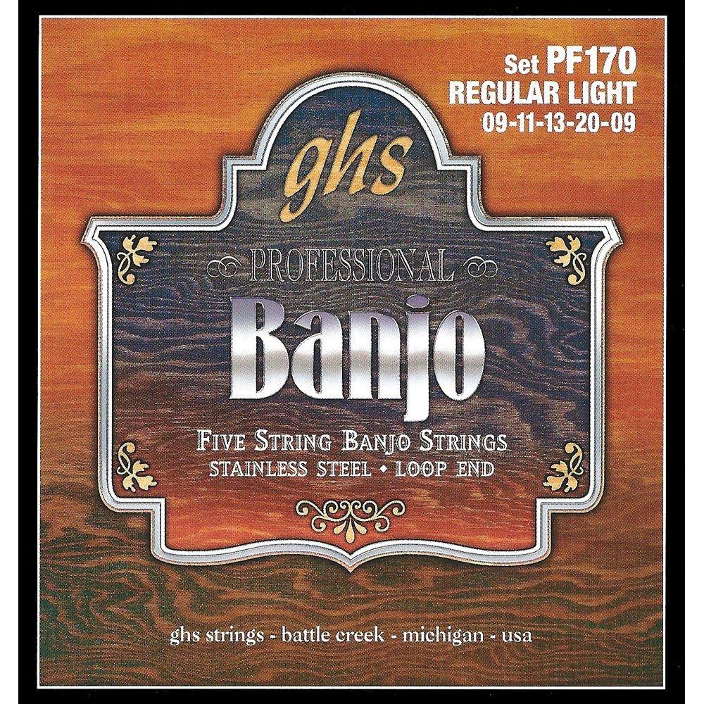 GHS Banjo Set 9's PF170