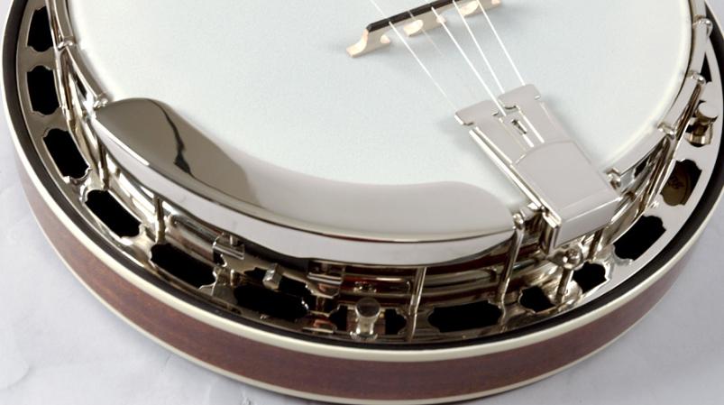 Recording King Mahogany Flathead Tone Ring Banjo RK-R36