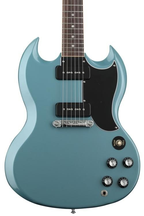 Epiphone SG Special P-90 Faded Pelham Blue Electric Guitar
