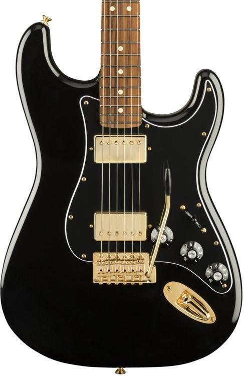 Fender Limited Mahogany Blacktop Strat HH