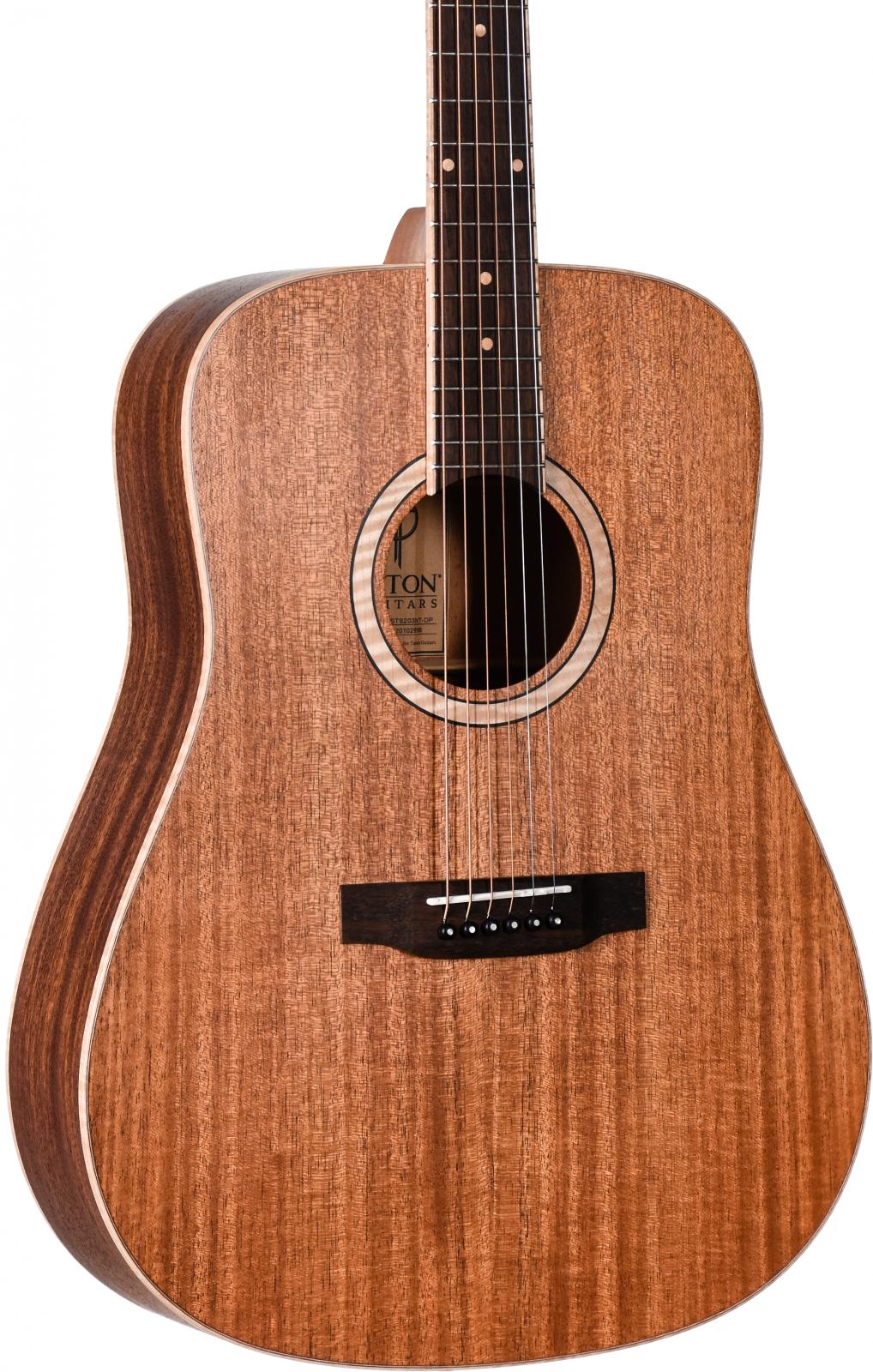 Teton STS203NT-OP All Solid Mahogany Acoustic