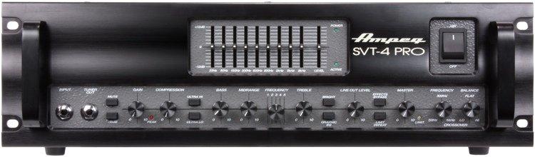 Ampeg SVT-4PRO 1200W Tube Preamp Bass Head