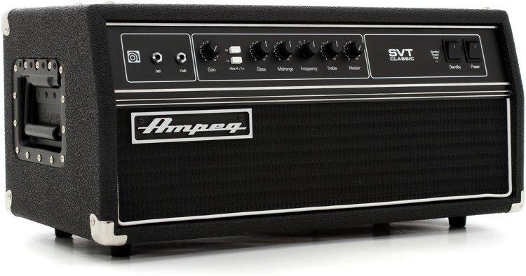 Ampeg SVT Classic 300 Watt Tube Bass Head