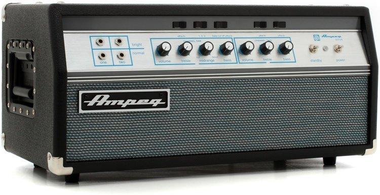Ampeg SVT-VR Vintage Reissue 300W All Tube Bass Head