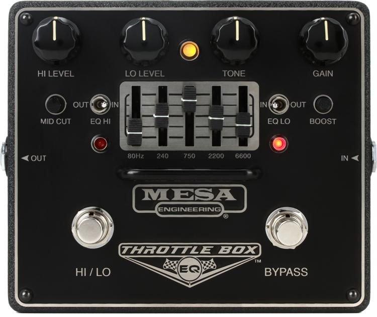 Mesa/Boogie Throttle Box EQ - Drive with 5 Band EQ