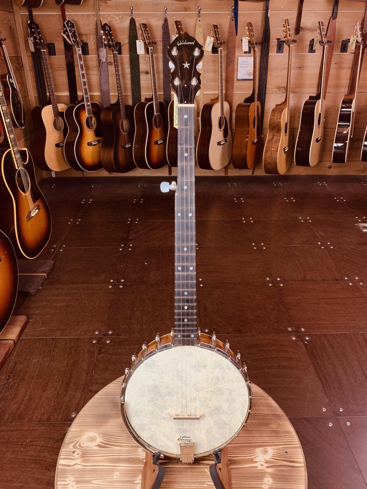 (Used) Wildwood Minstrel Open-Back 5-String Banjo