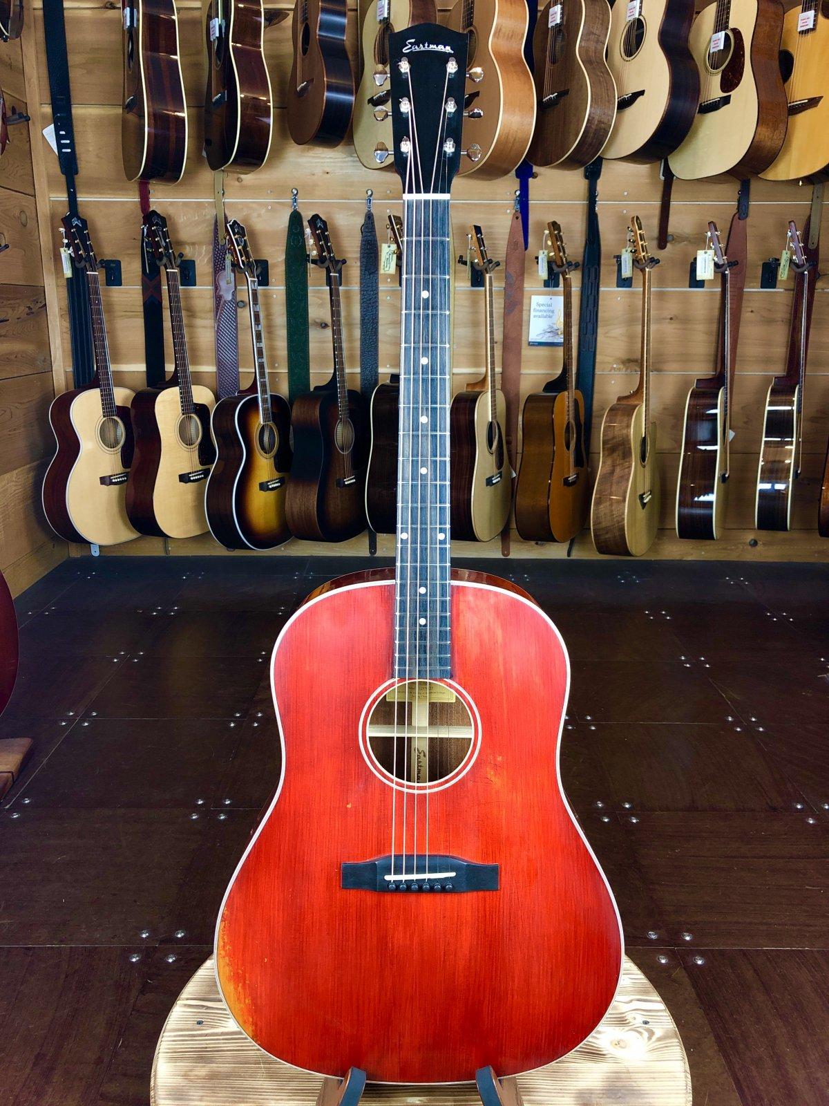 Eastman E10SS/V Antique Varnish Series Slope Shoulder Acoustic #0014