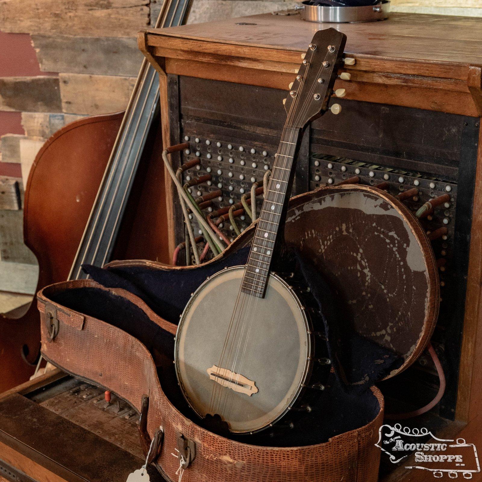 (Vintage) 1922-25 Gibson Junior Mandolin Banjo Style MB-JR