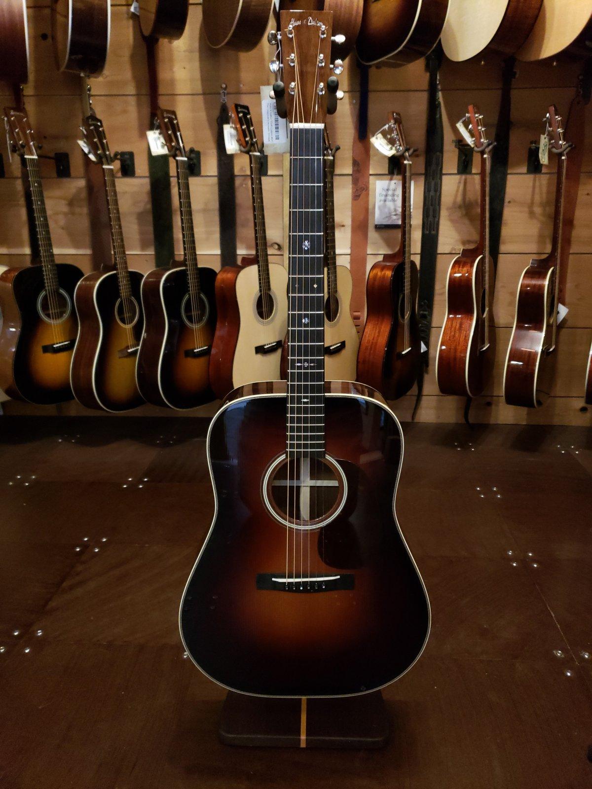 huss and dalton guitar finish