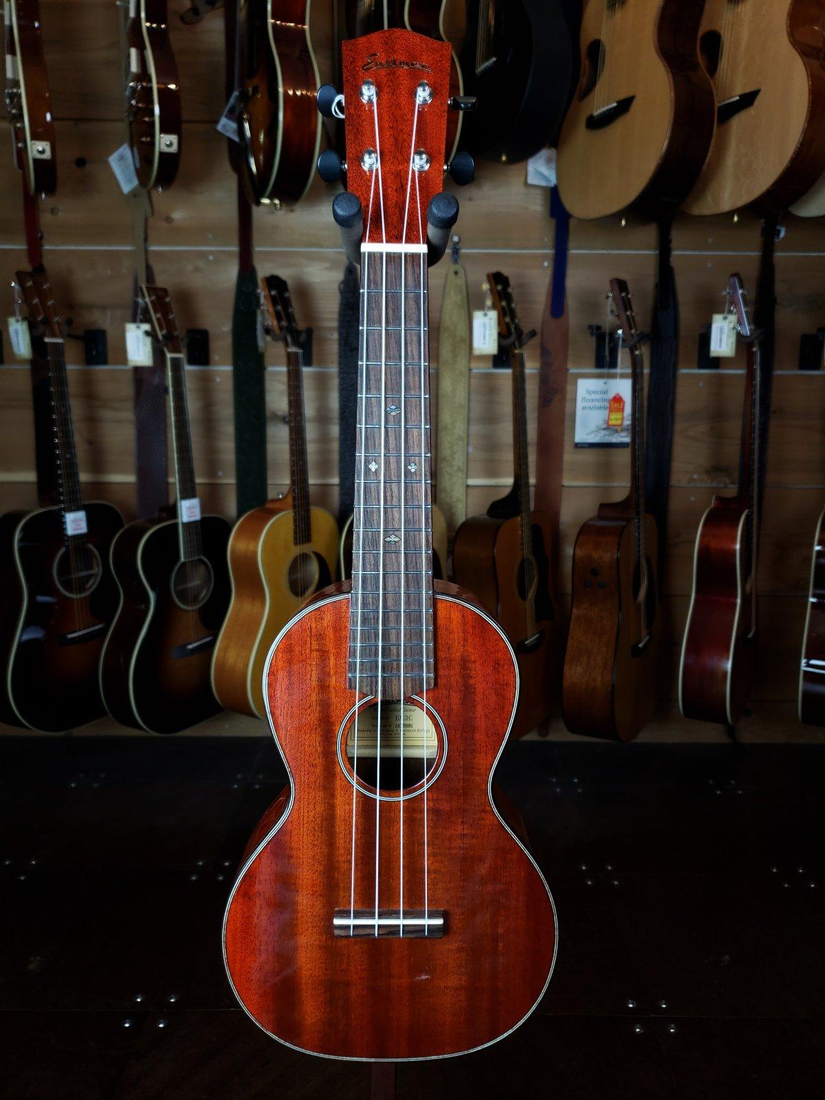 Eastman EU3C Handmade All Mahogany Concert Ukulele #14755681