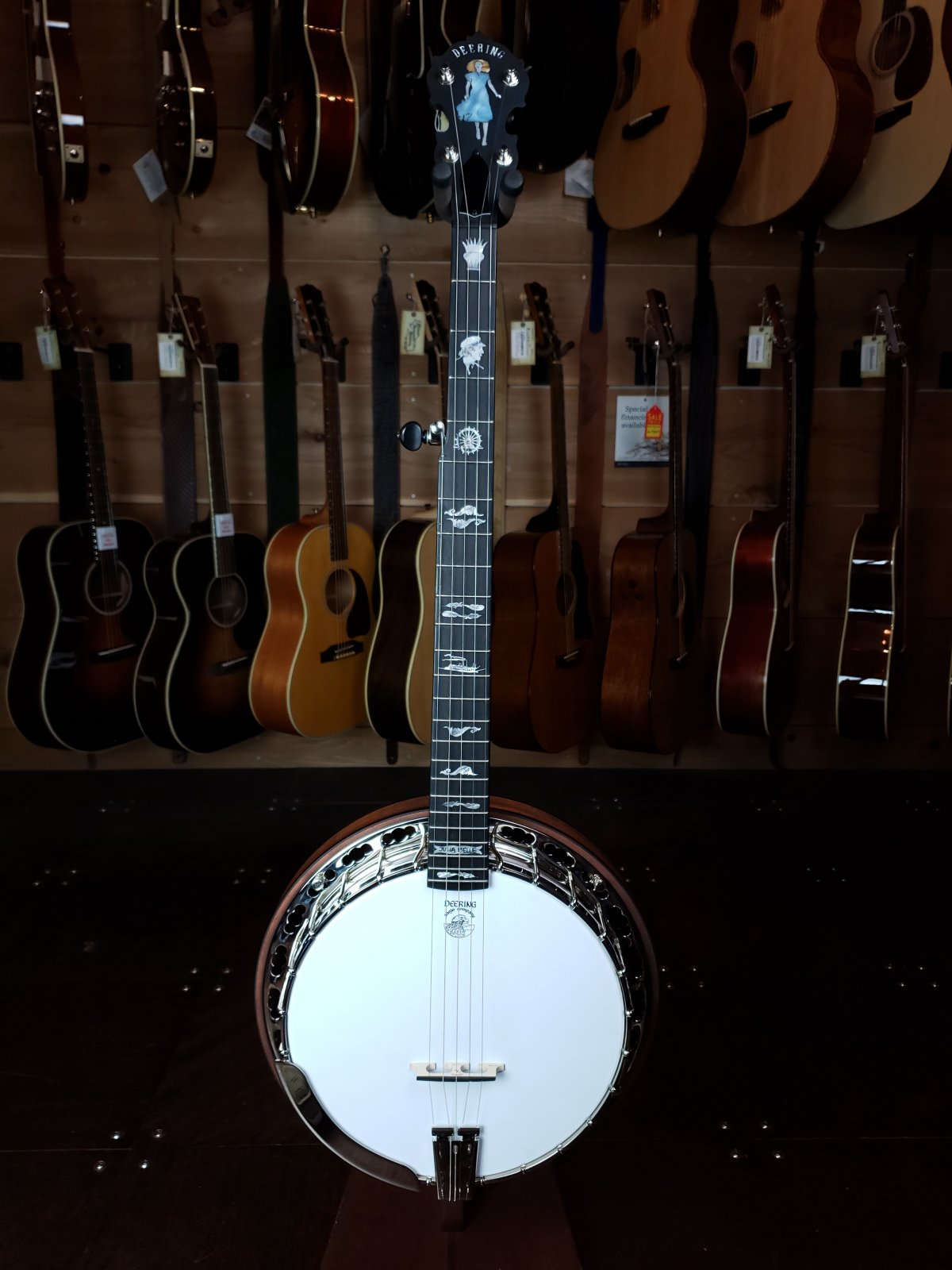 Deering Julia Belle 5-String Banjo #0018