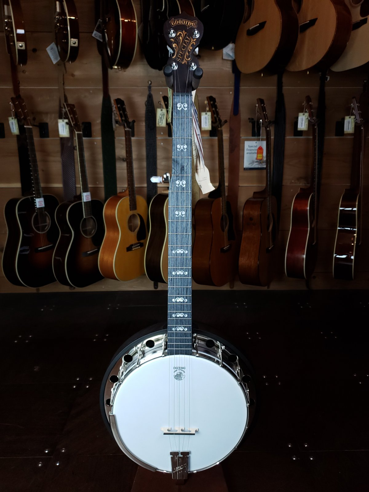 Deering Artisan Goodtime Special Resonator Banjo (AS)