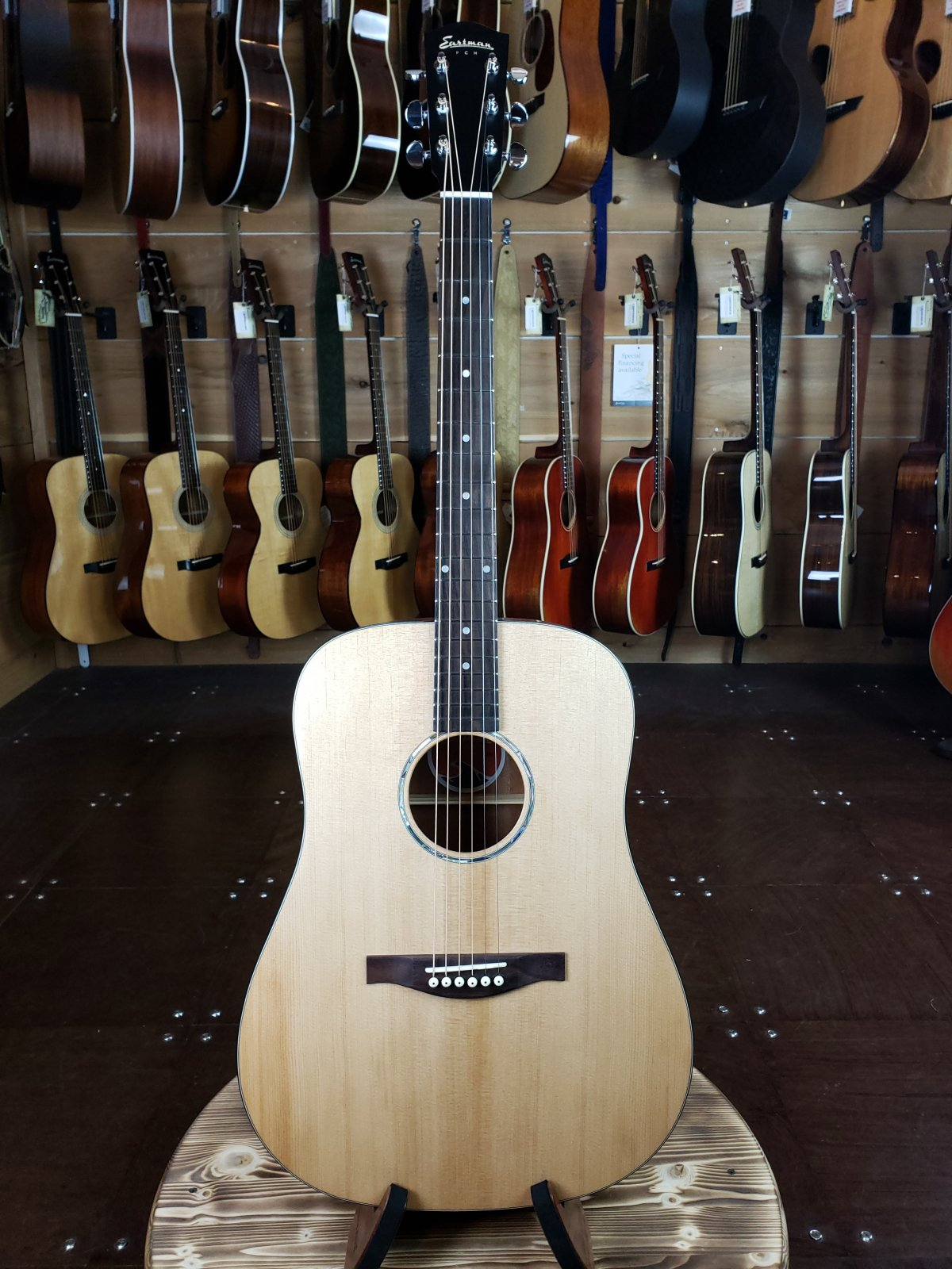 Eastman PCH1-D #0063 Natural Dreadnaught Guitar