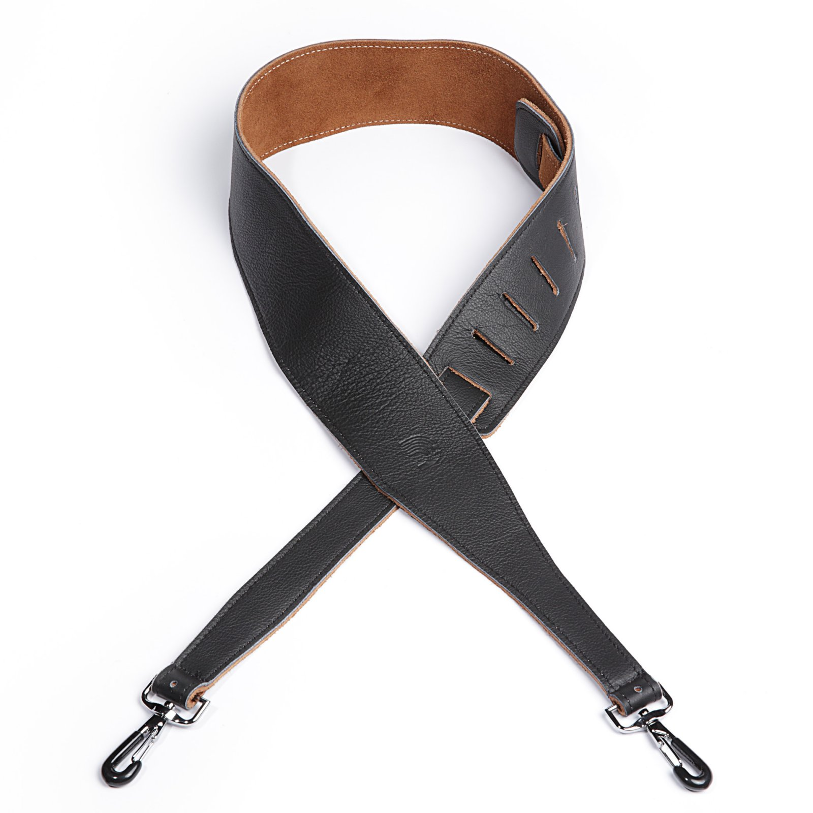 D'Addario/Planet Waves Garment Leather Banjo Strap with Coated Metal Hooks 25SLBNJ02-DX