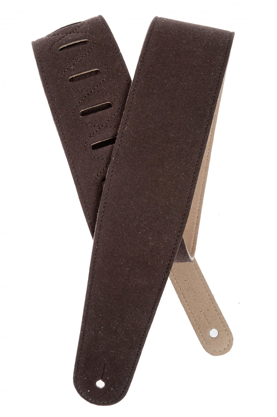 D'Addario / Planet Waves Suede Guitar Strap Cognac 25SS01-DX