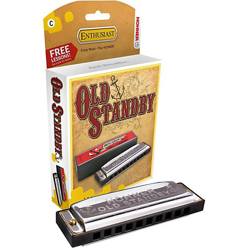 Hohner Old Standby Harmonica - Key of G (34B-BXG)