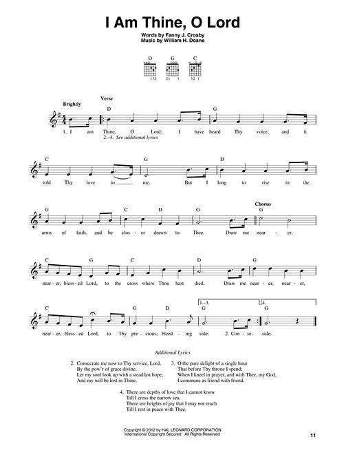 3-Chord Hymns for Guitar Play 30 Hymns with 3 Easy Chords ...