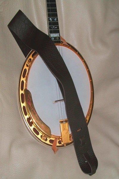 Lakota Leather 3 Banjo Non Cradle Strap Chocolate (LK-3MANB)