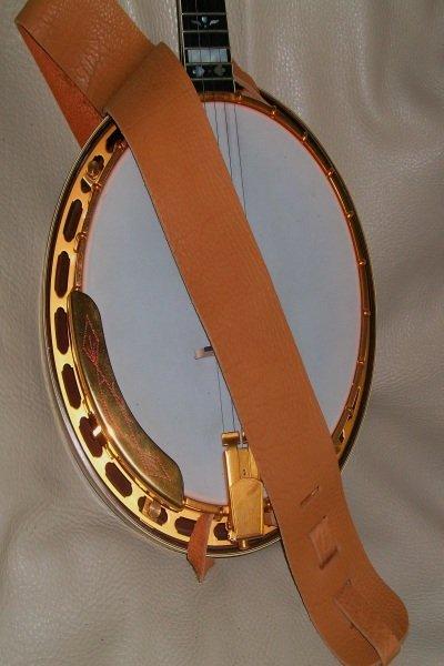 Lakota Leather 3 Banjo Cradle Strap Spruce (LK-3SPB)