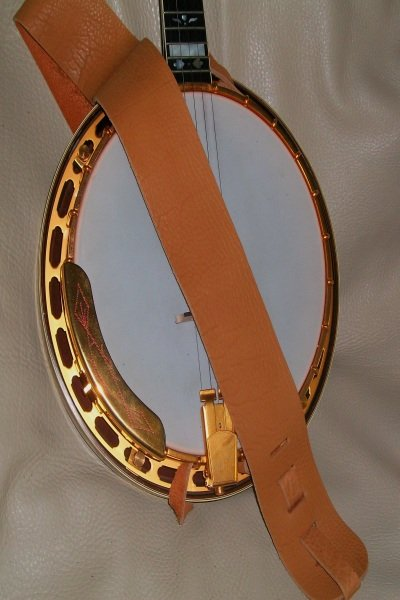 Lakota Leather 3 Banjo Non Cradle Strap Spruce (LK-3SPNB)