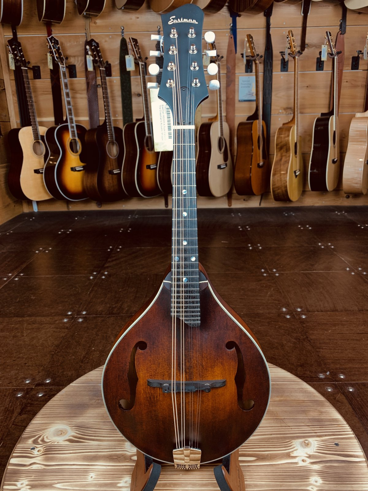 Eastman MD305 A-Style Hand-Carved Mandolin #2275