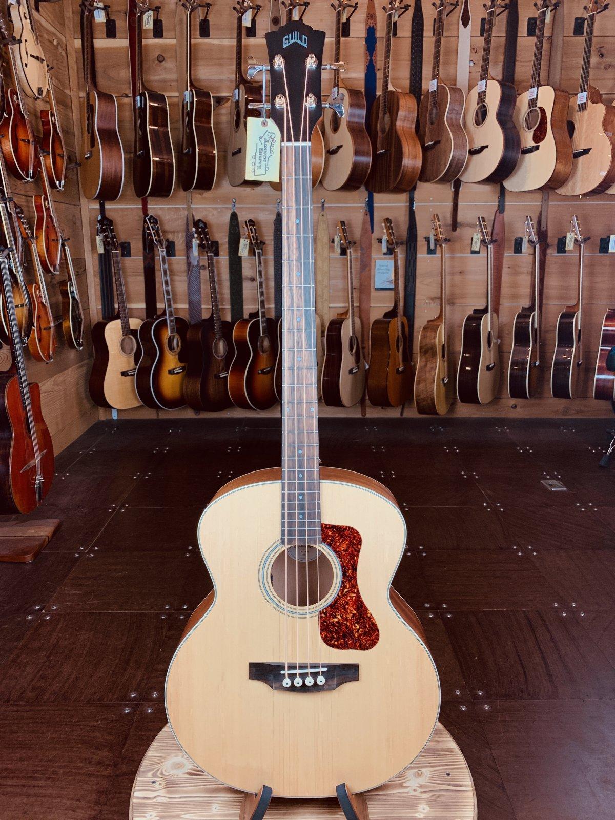 Guild B-240E #9331 Natural Acoustic Bass w/ FREE GIG BAG