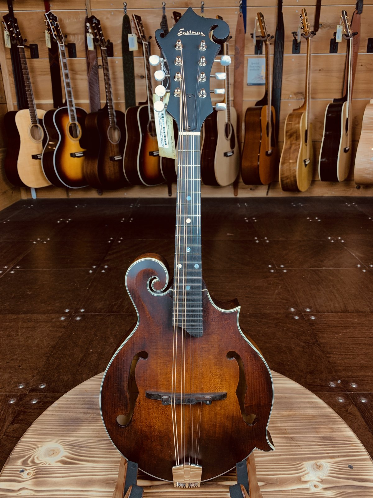 Eastman MD315 F-Style Hand-Carved Mandolin #2386