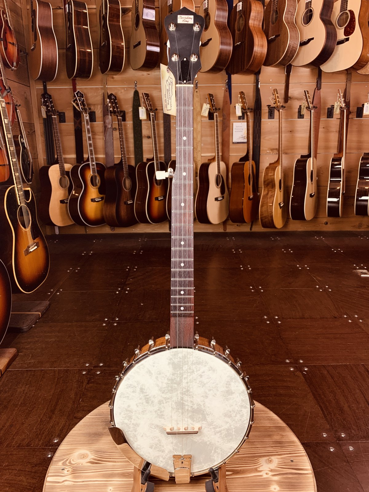 Recording King RK-OT25-BR Madison Open Back Banjo #2708