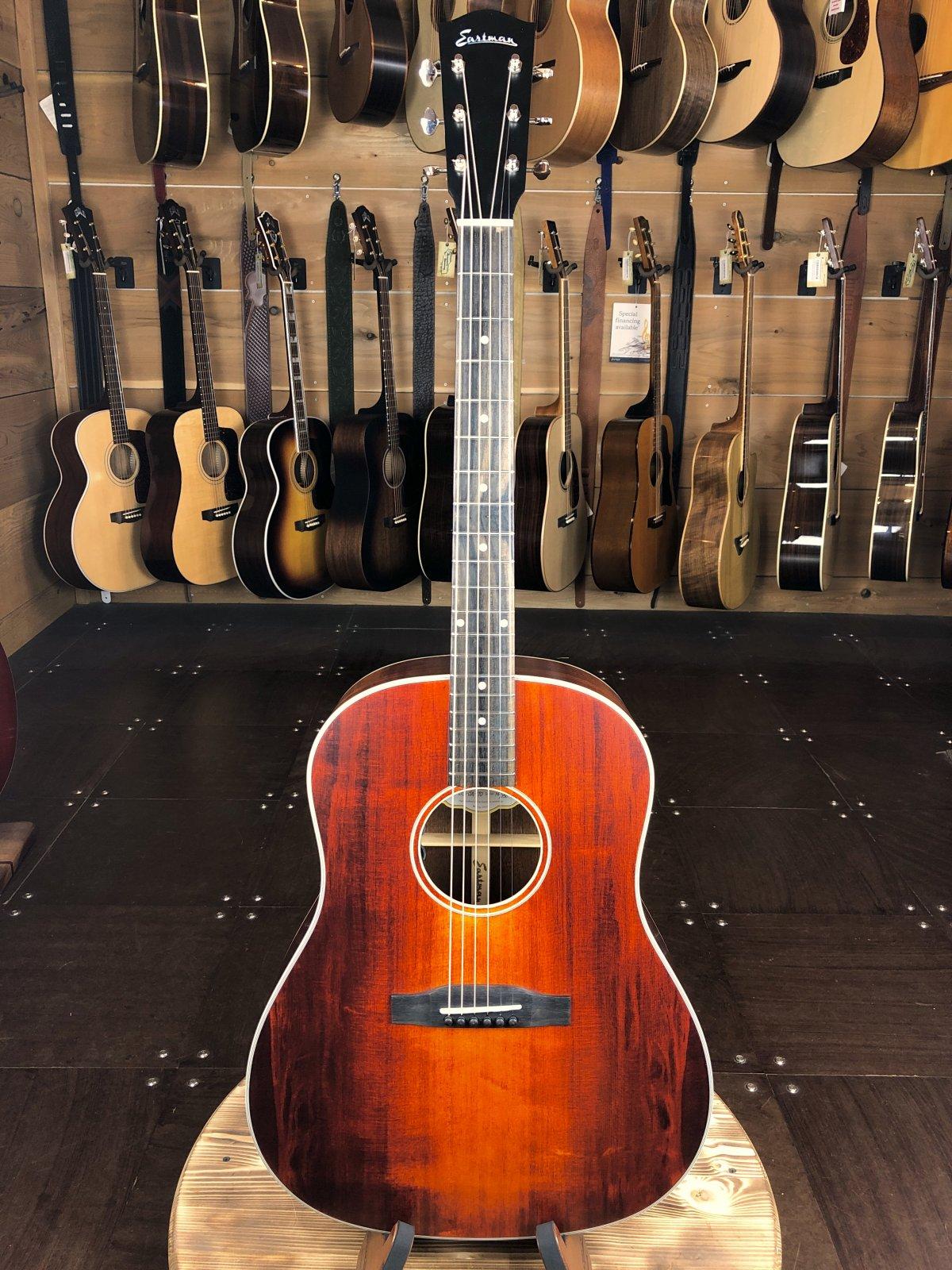 Eastman E1SS-LTD-CLA Slope Shoulder Adirondack Top Limited Edition Dreadnaught Acoustic #116/250