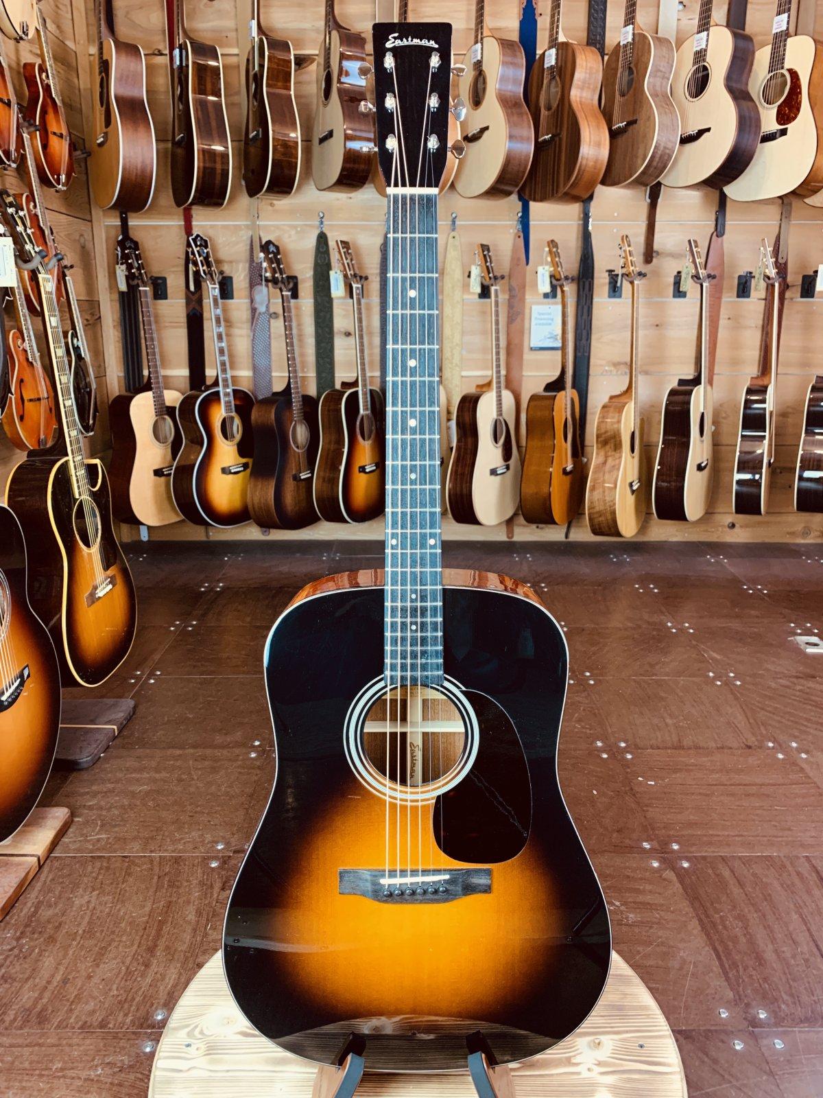 (Used) Eastman E6D-SB #5786 Sunburst Dreadnought Acoustic