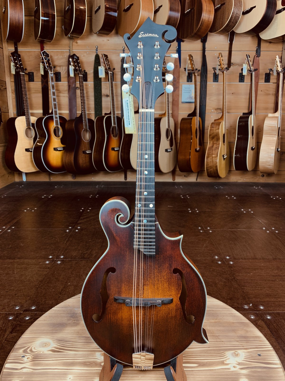 Eastman MD315 F-Style Hand-Carved Mandolin #2410
